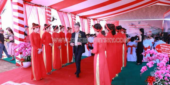Dịch vụ tổ chức sự kiện lễ khởi công tại Đồng Nai