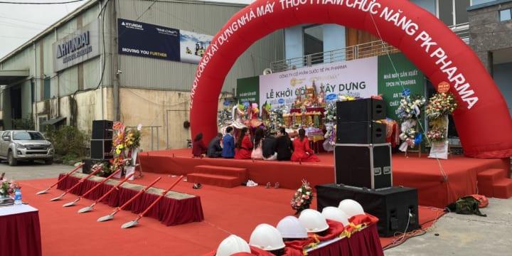 Công ty tổ chức sự kiện lễ khởi công tại Điện Biên